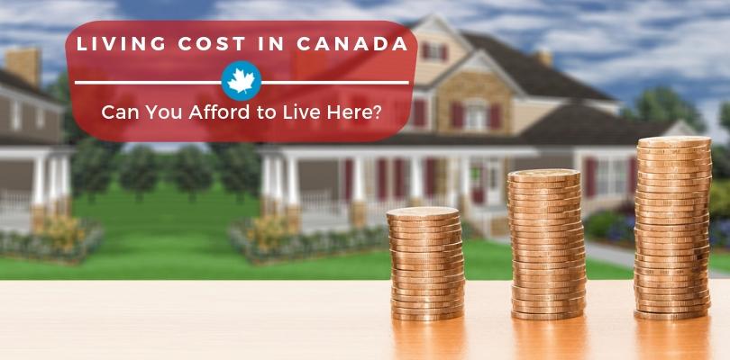 living cost canada