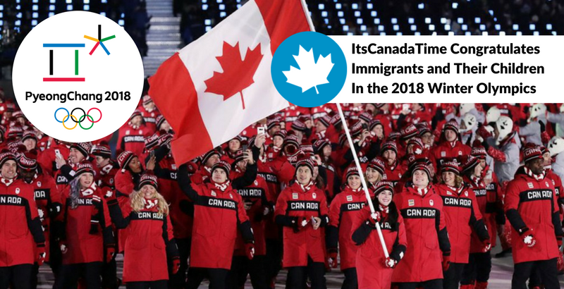 Canada Immigrants in 2018 Olympics